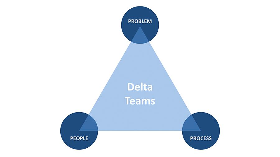 delta team process people problem