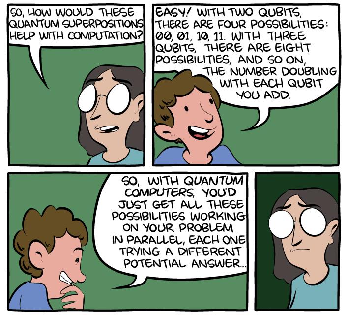 quantum computer qubit comic