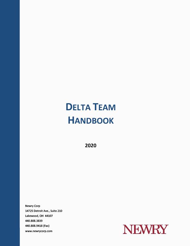 Delta Team Handbook Cover